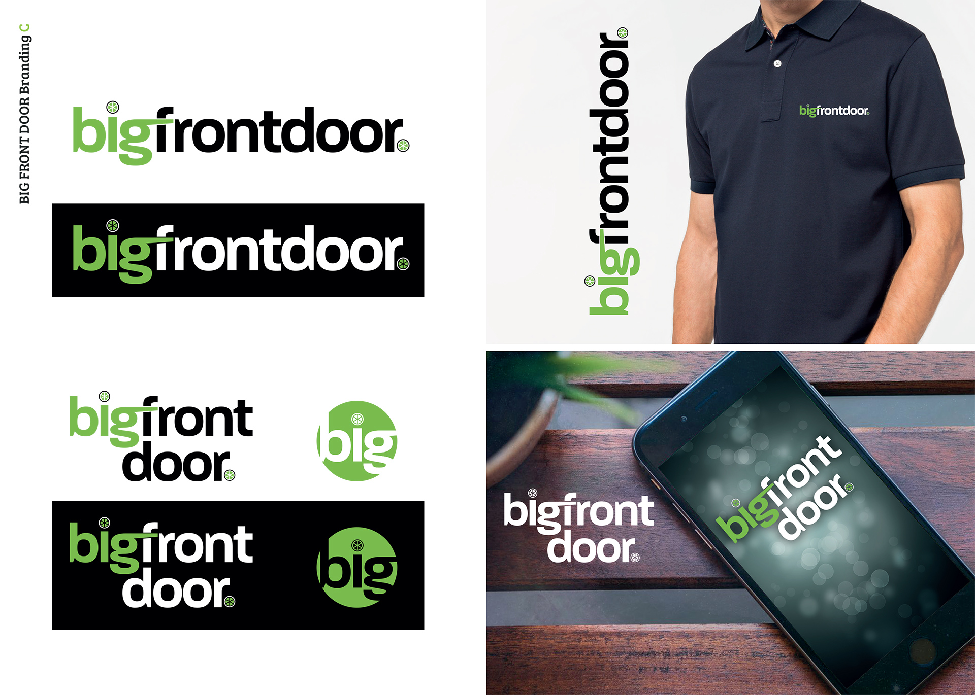 Big Front Door Main Branding